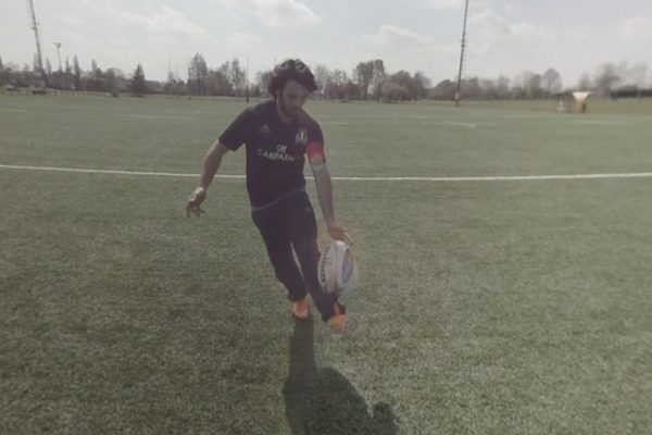 Rugby chipkick Video VR