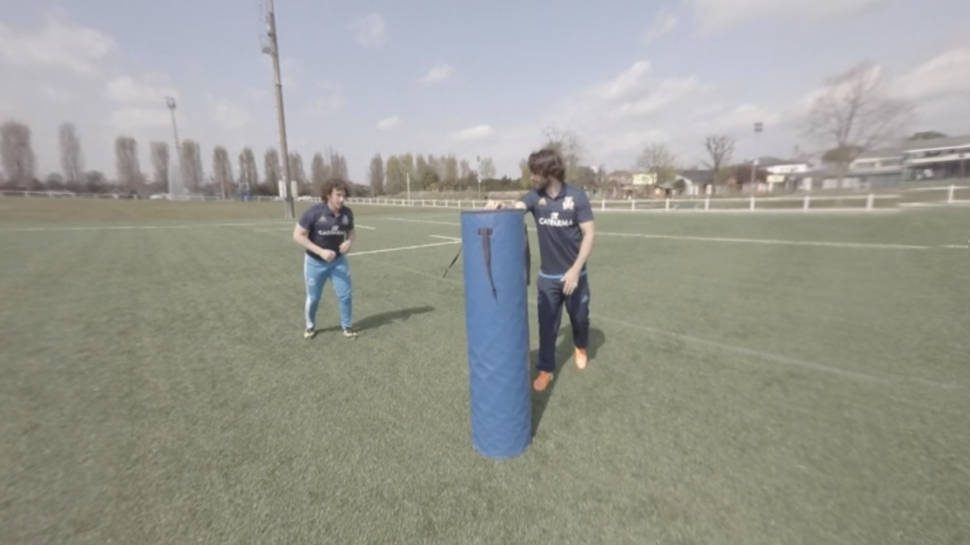 Rugby placcaggio Video VR