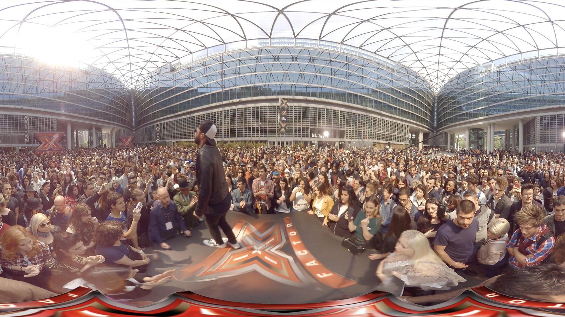 XFactor Milano Giosada Video VR