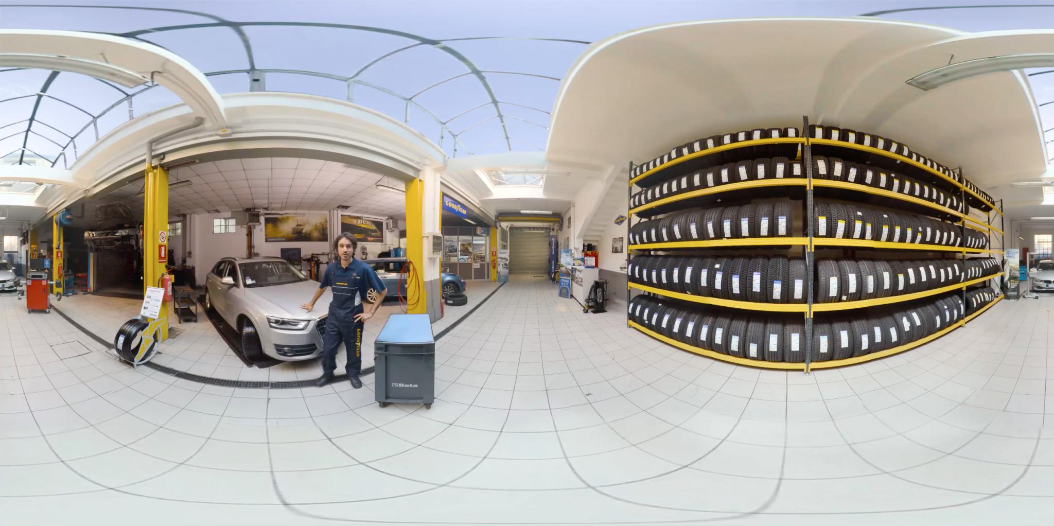 Goodyear Video VR