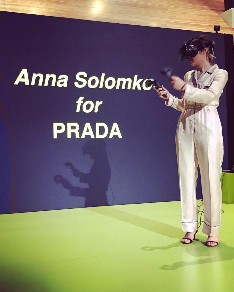 Prada video VR