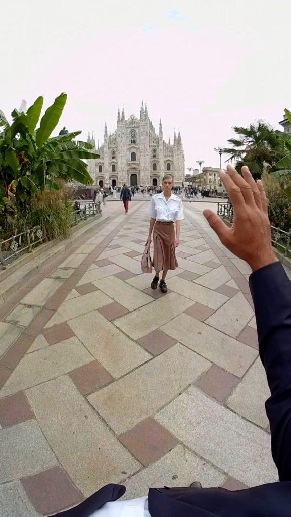 Prada SS 2020 video VR