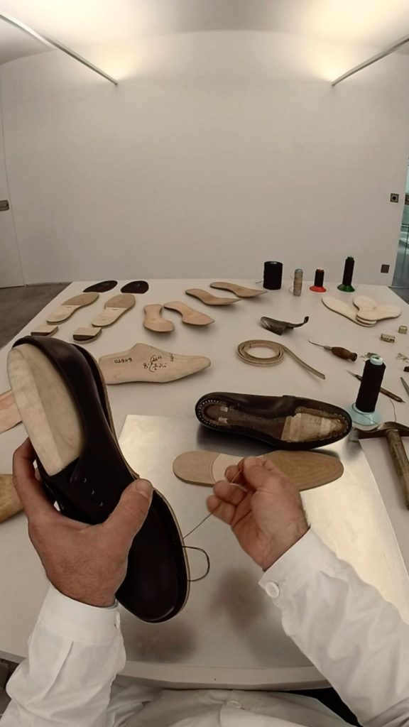 The Making of The Prada Man Shoes video VR