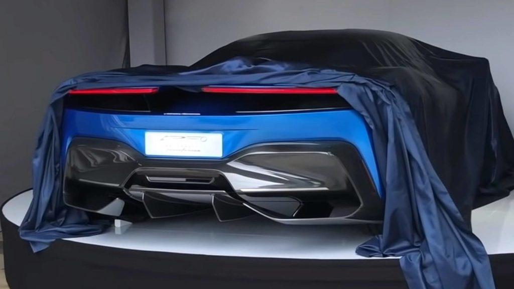 Pininfarina Hypercar video VR
